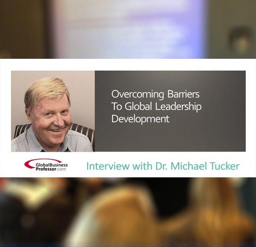 Overcoming Barriers to Global Leadership Development